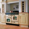 Rangemaster CLAS110ECCYC CLASSIC 110cm Ceramic Range Cooker, Cranberry/Chrome