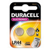 Duracell Specialty LR44 Alkaline Coin Batteries - Pack of 2.