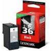 Lexmark Cartridge No. 36 - Print cartridge - 1 x black - 175 pages - blister - LRP