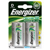 Energizer Rechargeable Batteries D Pack of 2