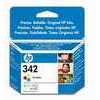 HP 342 - Print cartridge - 1 x colour (cyan, magenta, yellow) - 175 pages - blister with acoustic alarm