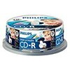 Philips - 25 x CD-R - 700 MB ( 80min ) 52x - ink jet printable surface - storage media