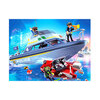 Playmobil Police Boat Playset - 4429.
