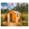 Rowlinson Premier Wooden Shed - 7 x 5ft.