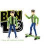 """BEN 10 FOUR ARMS KEVIN 11 4"""" toy figure from The Original 10 [not boxed]"""