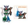 Power Rangers Jungle Fury Transforming Beast master Megazord
