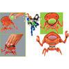 Ben 10 Alien Force - Deluxe Figures - Spidermonkey
