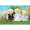 Sylvanian Families Golden Labrador Family