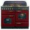 Rangemaster Classic 110 Dual Fuel Range Cooker - Black