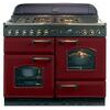 Rangemaster CLAS110DFFCY/C Range Cookers Cranberry / Chrome