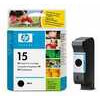 HP  15 Black Ink Cartridge, Black