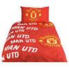 Zap Manchester United Stripe Single Duvet