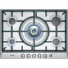 Bosch PCR715M90E Exxcel 70cm Gas Hob in Brushed Steel in Stainless steel