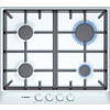 Bosch PCP612B90E hob - hobs (built-in, Gas, White)