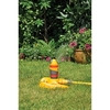 Hozelock Oscillating Garden Water Sprinkler Pro with 2 Spray Patterns & Sled Base Max Coverage 314m2