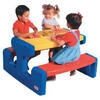 Little Tikes Large Primary Picnic Table