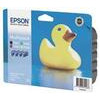 Epson Multipack T0556 - Print cartridge - 1 x black, yellow, cyan, magenta - blister with RF alarm
