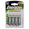 Energizer Rechargeable AA Battery x4 pc(s) NiMH 1.2V