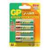 GP Pack of 4 Rechargeable AA 2700 series NiMH Batteries - min.2600mAh