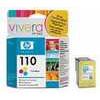Original HP No.110 tri-colour (cyan magenta yellow) printer ink cartridge CB304AE