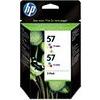 HP 57 2-pack Tri-color Original Ink Cartridges (C9503AE)