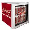 HUSKY  EL202 Budweiser Drinks Cooler - Red, Red