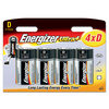 Energizer Ultra+ Batteries D - Pack of 4