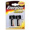 Energizer Ultra+ Batteries 9V - Pack of 2