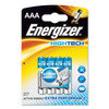 ENERGIZER 629604 Battery, Ultimate, Pack of 4, Alkaline, 1.5 V, AAA, Raised Positive and Flat Negative, 10.5 mm (1 piece)