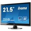 Iiyama Prolite E2278hsd (21.5 Inch) Led Backlit Lcd Monitor 1000:1 250cd/m2 (1920 X1080) 5ms Vga/dvi (black)