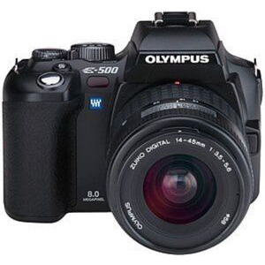 Photo of Olympus E-500 With 14-45MM Lens Digital Camera