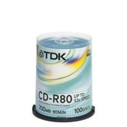 Tdk Cd R80cba100 Reviews