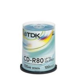 Tdk Cd R80cba100 Reviews