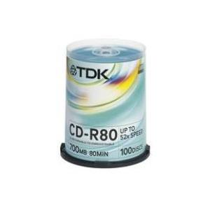Photo of TDK CD R80CBA100 CD R