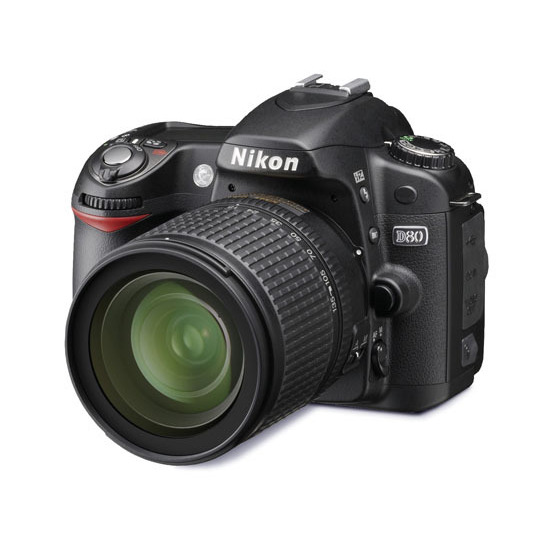 Nikon D80 with 18-70mm lens