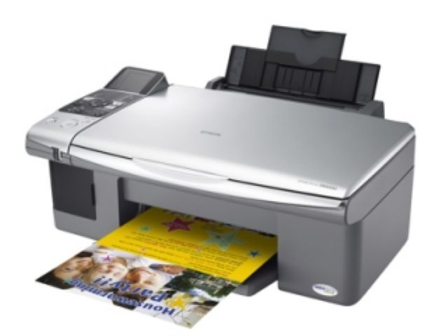 Ongekend Epson Stylus DX4000 Colour Inkjet Printer Reviews - Compare Prices NE-53