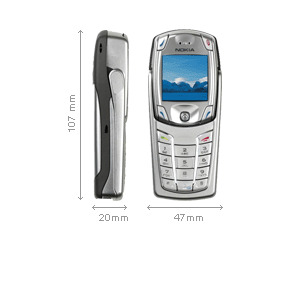 Photo of Nokia 6822 Mobile Phone