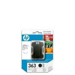 Original HP No.363 black printer ink cartridge C8721EE Reviews