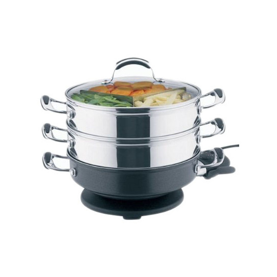 Prestige 47433 ROUND COOK N STEAM S/STEEL