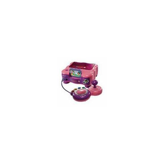 VTech V.Smile TV Learning System - Pink (Including Dora the Explorer learning game)