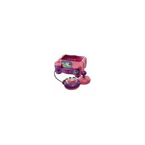 VTech V.Smile TV Learning System - Pink (Including Dora the Explorer learning game)