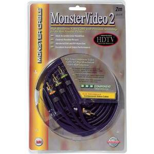 Photo of Monster Cable MV2CV 2M Adaptors and Cable