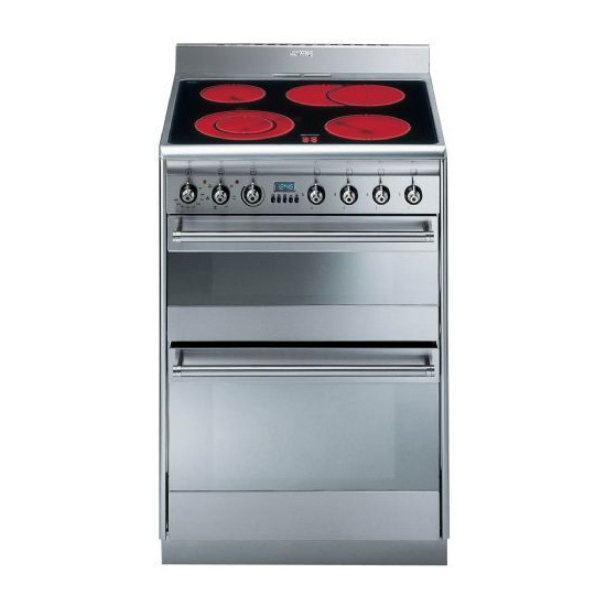 Smeg SUK62CMX5 Electric Cooker
