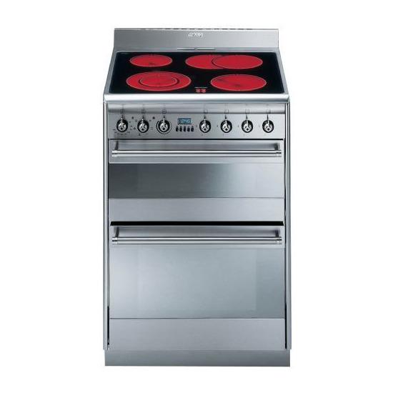 Smeg SUK62CMX5 Electric Cooker