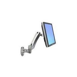 Photo of LX Wall Mount Arm Silver Monitor Arm