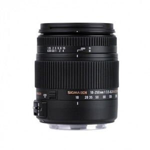 Photo of Sigma 18-250MM F/3.5-6.3 DC Macro OS HSM Lens (Nikon Mount) Lens