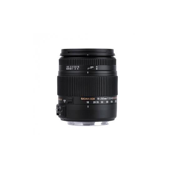 Sigma 18-250mm f/3.5-6.3 DC Macro OS HSM Lens (Nikon Mount)