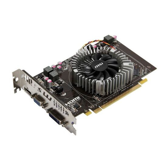 MSI HD 6670 2GB
