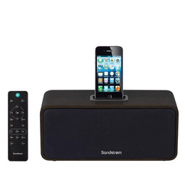 SANDSTROM SPH1512 iPod & iPhone Speaker Dock - Dark Wood Reviews