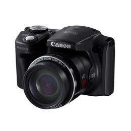 Canon PowerShot SX500 IS Digital Camera (Black) Reviews